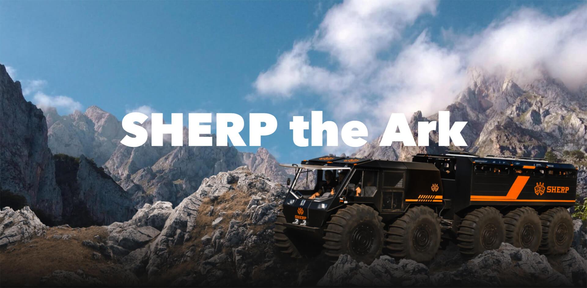 sherp the ark header